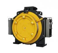 China Passenger Elevator Motor Machine , 1.0 - 1.75m/S Gearless Traction Machine on sale