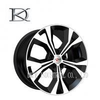 China 4 X 4 SUV Alloy Wheels 17 Inch , Audi Q5 Replica Wheels Black Machine on sale