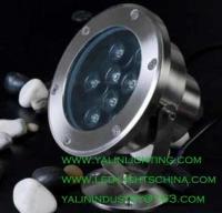 China waterproof LED underwater light, outdoor pool fountain decorative spotlight on sale