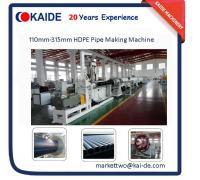 China China Cheap HDPE Pipe Making Machine 110mm-315mm lower price on sale