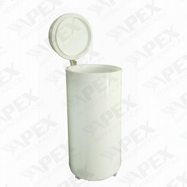 upright beverage cooler hard top party barrel cooler   beverage