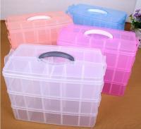 China Parts Stocker Organizer PP Plastic Storage Box, pp EVA plastic adjustable plastic storage box, PLASTIC MESS ARTICLE TABL on sale