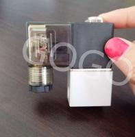 China Direct Acting Micro Control Valve , Aluminium Miniature Solenoid Valve Air Compressor Silent Pump Accessories on sale
