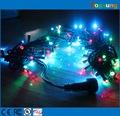 Hot sale rgb color changing led christmas lights outdoor 12v 100 bulbs