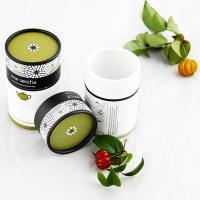Buy cheap Matt lamination Biodegradable Printed Paper Tube Tea Packaging , gift tube box from Wholesalers