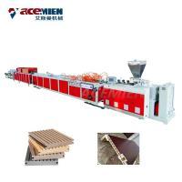 China Sawdust Board Wood Plastic Composite Production Line PVC UPVC Hollow Door on sale