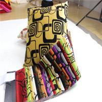 China upholstery fabric flocking velvet sofa fabric bonded polyester fabric on sale