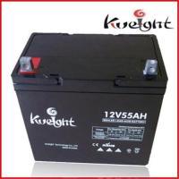 Buy cheap VRLA gel battery 12V 55Ah from Wholesalers