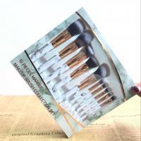 China Marble Makeup brush Set, Marble Makeup Brush Collection Set, Professional Cosmetic Brush Set on sale