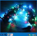 Durable rgb color changing led christmas light bulb 24v 10meter