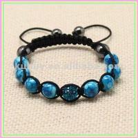 China Shamballa Crystal Bead Bracelets Fashion Crystal Ball Bracelets SB-315 on sale