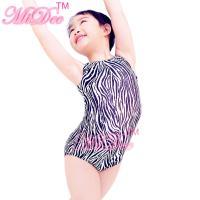 Buy cheap Confetti Strechy Spandex Zebra Animal Prints Sleeveless Leotard Dance Wear Accessories from Wholesalers