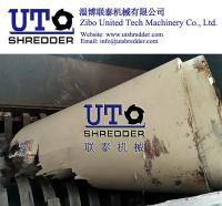 Buy cheap double shaft shredder/ Cardboard barrel shredder/ wooded barrel shredder/ plywood barrel shredder from Zibo United Tech from Wholesalers