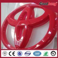 Buy cheap illuminated Custom Made led logo sign, 3d logo sign from Wholesalers