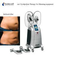 China 4D Body Slimming Machine Freezing Fat 360 Surround Cooling 4 Handles Cryolipolysis on sale