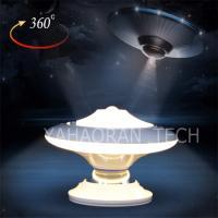 China 0.8w mini 360 degree rotatable UFO design motion sensor led night light for christmas party on sale