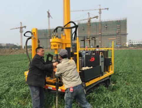 DYLC light model cone penetration test soil investigation drill rigs
