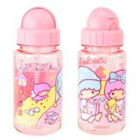 China 14oz Authentic Sanrio Little Twin Stars Tritan BPA FREE Kids Water Bottle+Straw on sale