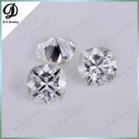 China Synthetic Moissanite Diamond Super White Cushion Cut Moissanite Stone on sale