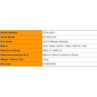 One - Way 78TKL4801 NSK Hydraulic Release Bearing For ISUZU