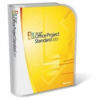 China English Microsoft Project License Standard 2007 Upgrade 1 PC Digital Download on sale
