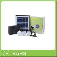 China 4W 11V lithium batter lighting kit solar energy household electrical appliances on sale