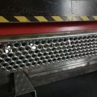 China aluminum anti-slip strip for stairs  / perforated metal anti-slip treads on sale