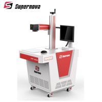 China QR Code Fiber Laser Marking Machine Batch Number Laser Printing Equipment DMF Model on sale