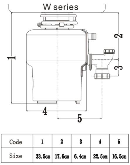 food waste composting machine diagram