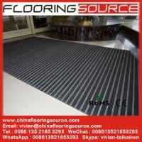 Buy Heavy Duty Aluminum Floor Mat Rubber Connection Easy Rollup For - Rubber connecting floor mats