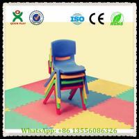 China China Cheap Kids Plastic Stackable Chairs / Kindergarten Stackable Plastic Chairs QX-194B on sale