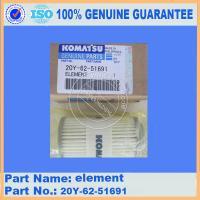 Buy cheap Excavadora Original PC300-8 FILTER INNER PART 20Y-62-51691 from Wholesalers