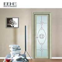 Buy cheap European Standard Toilet Aluminium Swing Door , Soundproof Grey Aluminium French Doors from Wholesalers