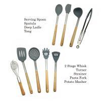 Buy cheap Non Fading Spatula Kitchen Tools , Non - Stick Silicone Spatula Spoon Set from Wholesalers