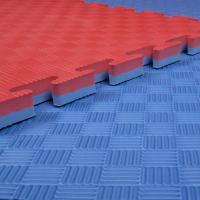 "Buy cheap High Density Taekwondo Mat 40""*40"" 1"" WTF Reversible reb/blue from Wholesalers"