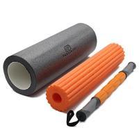 China Nontoxic Material Massage Foam Roller Set With Foam Roller Massage Sticker on sale