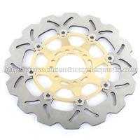 China Aluminum Alloy Motorcycle Disc Brake Rotors / Front Brake Discs on sale