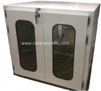 Buy cheap Floor Mounted Double swing Door Clean Room Pass through Box from Wholesalers
