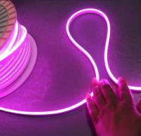 12v purple mini flexible neon tube lighting 6*13mm 2835 smd for signs logo