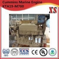 China Cummins KTA19-M4 marine engine 700hp diesel wet exhaust manifold boat engine for sale on sale