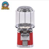 China Cute Pillar Mini Gumball Machine / Kids Bulk Candy Vending Machines on sale