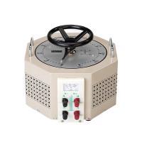China Pale Yellow AC Single Phase TDGC2J-3  IP20 Variac Voltage Regulator on sale