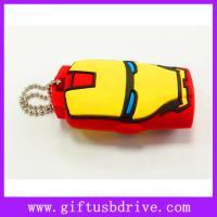 Buy cheap Lovely cartoon Iron Man shape USB sticks pen drive from Wholesalers