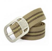 Buy cheap Men's Custom Khaki Canvas Belt from Wholesalers