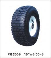 China puncture proof pneumatic  wheelbarrow wheel  trolley wheel 6.00-6 on sale
