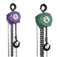 Buy cheap KII manual chain hoist, heavy duty pulley blocks from Wholesalers