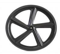 China 2014 YOUNGFAN BIKE China professional 66mm road 5-Spoke carbon wheels 700c clincher wheel on sale