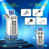 Buy cheap Multifunctional Cavitation RF 4 handles HIFU Slimming Machine from Wholesalers