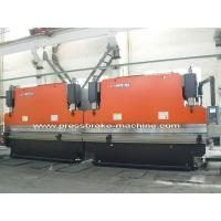1000 Ton Tandem Press Brake Shear Steel Beam Bending Front