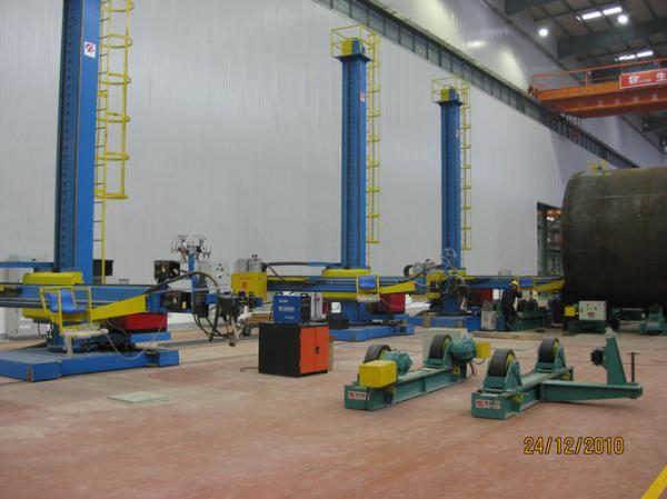 Pipe Welding Manipulator / Welding Column and Boom For Metallurgical